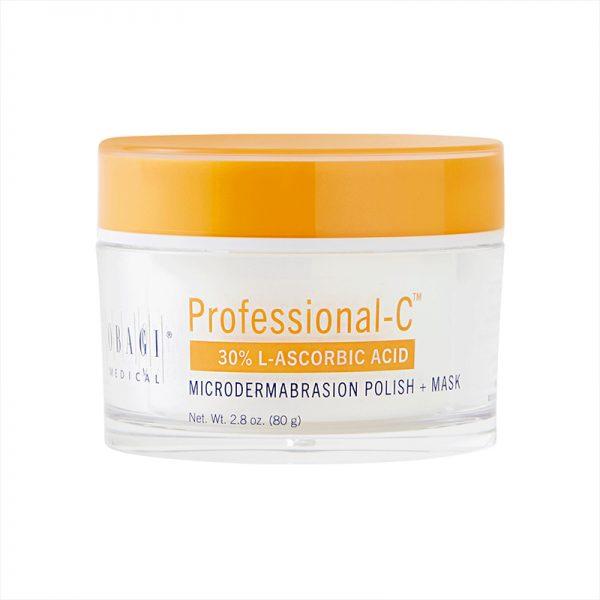Professional c microdermabrasion polish mask img
