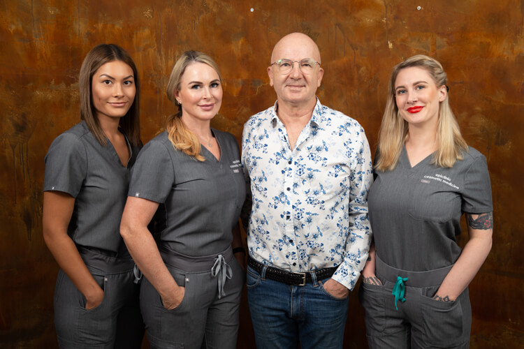 Dr Molton and his staff at epiclinic, hair transplant Adelaide