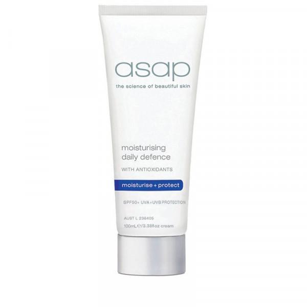 asap moisturising daily defence spf50 100ml 1